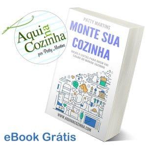 eBook Monte Sua Cozinha